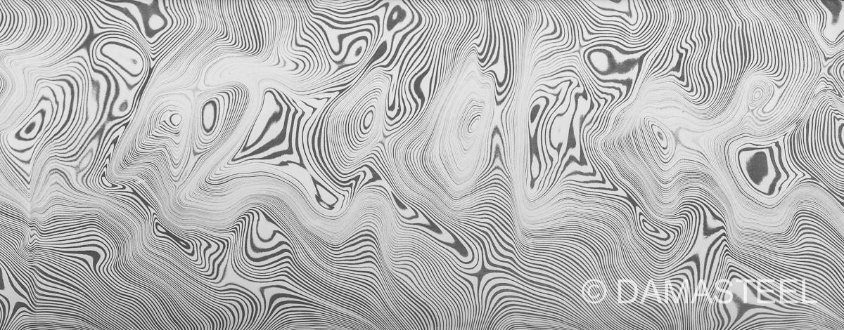 Damasteel Bjorkmans Twist pattern