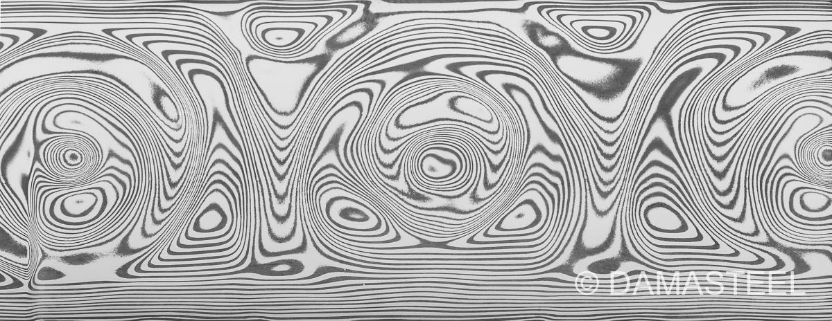Damasteel GrosseRosen pattern