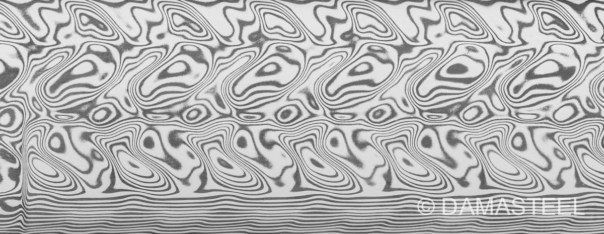Damasteel Gysinge pattern
