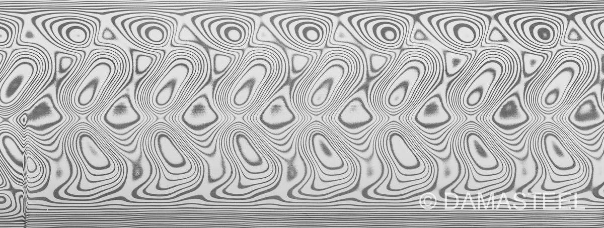 Damasteel Hakkapella pattern