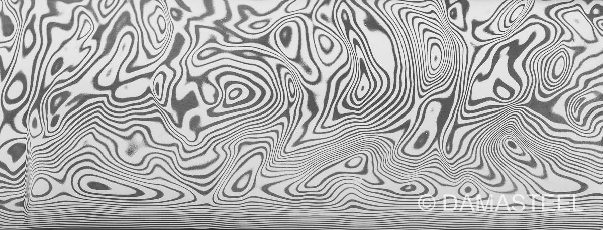 Damasteel Vinland pattern