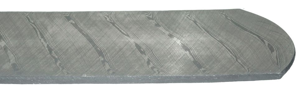Twist pattern Damasteel