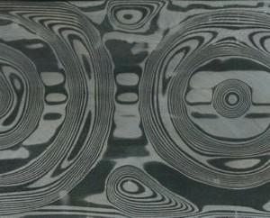 Grosse Rosen pattern Damasteel