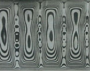 Odin's Eye pattern Damasteel