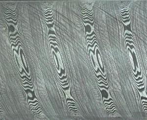 Twist pattern Damasteel